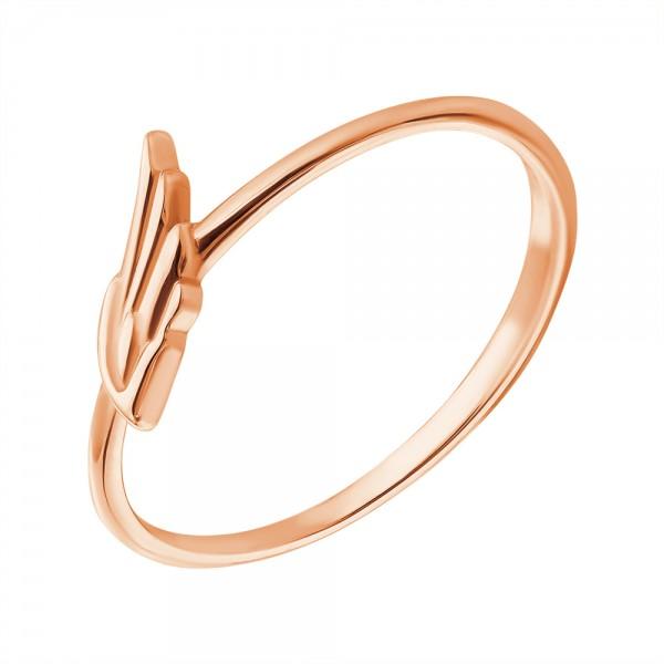 Ювелирное кольцо из красного золота 585 пробы R-00270