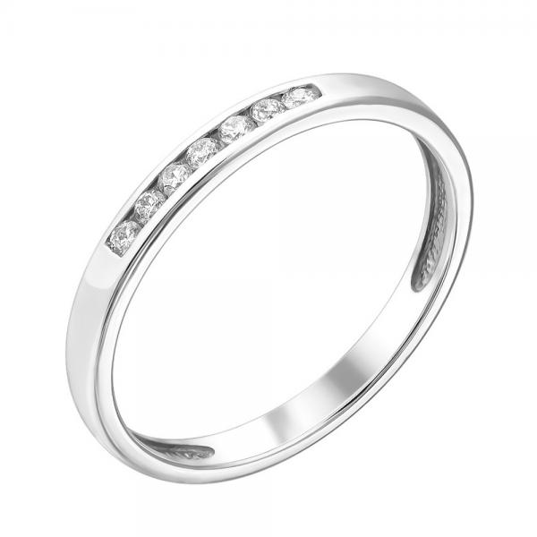 Кольцо из белого золота 585 пробы с бриллиантами RD-6741w