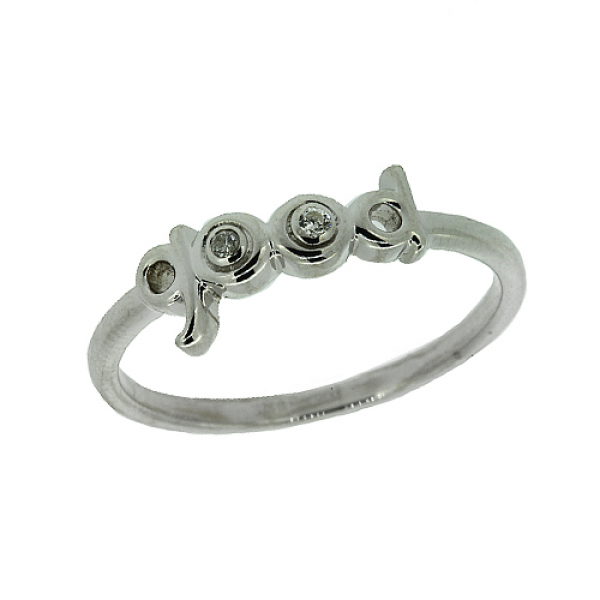 Серебряное кольцо 925 пробы с бриллиантами RD-6935Ag