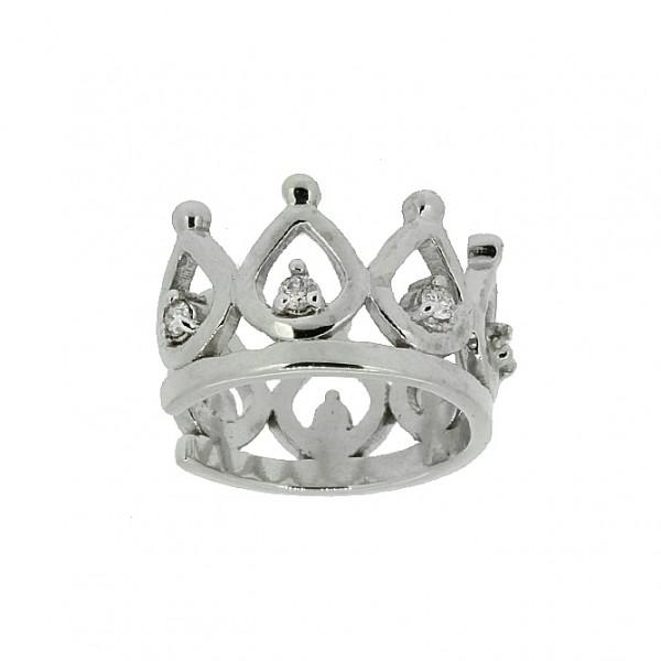 Ювелирные серебряные каффы с бриллиантами ED-6940Ag