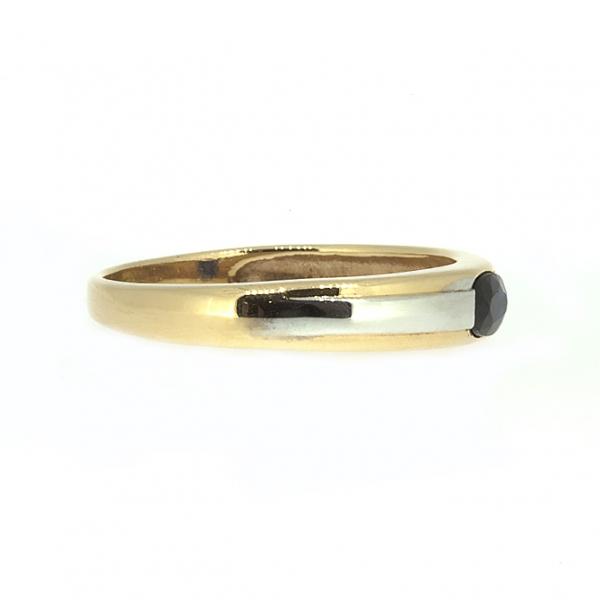 Ювелирное кольцо из красного золота 585 пробы с сапфиром RS-6079