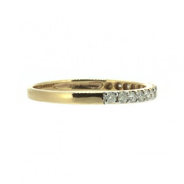Кольцо из красного золота 585 пробы с бриллиантами RD-15446