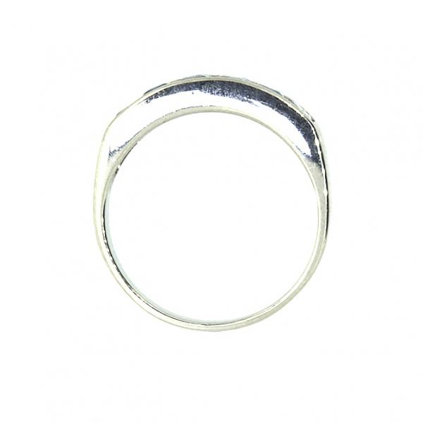 Ювелирное кольцо из белого золота 585 пробы с топазами RT-6121w