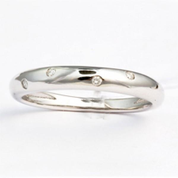 Ювелирное кольцо из белого золота 585 пробы с бриллиантами RD-7212w