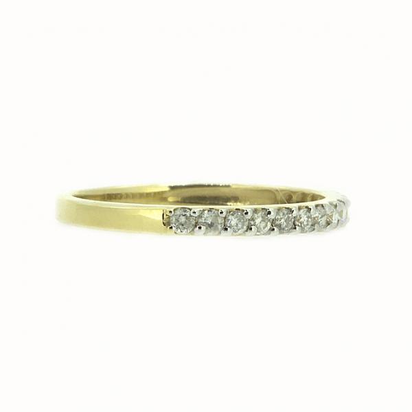 Ювелирное кольцо из жёлтого золота 585 пробы с бриллиантами RD-15446y