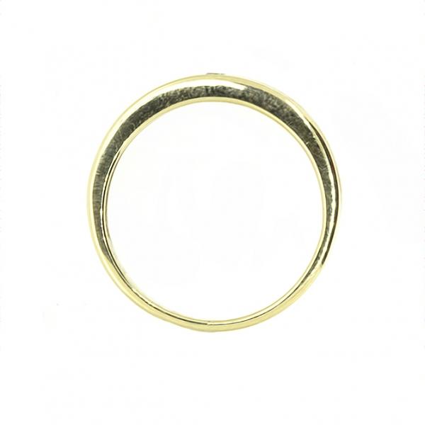 Ювелирное кольцо из жёлтого золота 585 пробы с бриллиантом RD-87812y