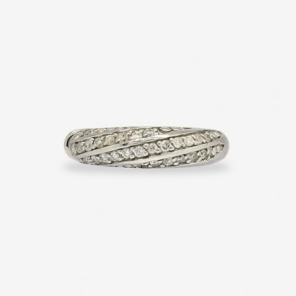 Ювелирное кольцо из белого золота 585 пробы с бриллиантами RD-5529w