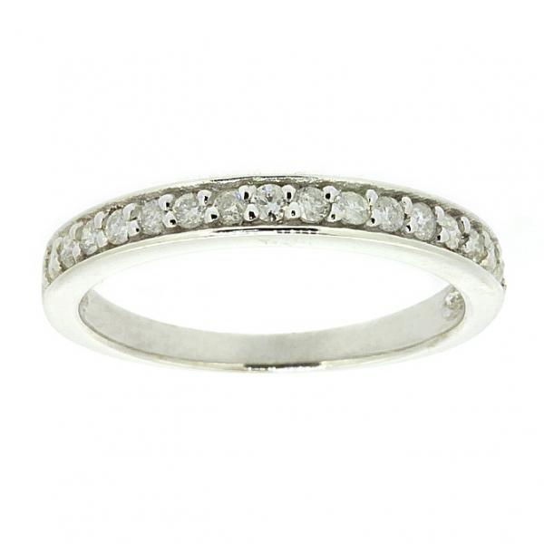 Ювелирное кольцо из белого золота 585 пробы с бриллиантами RD-6566w