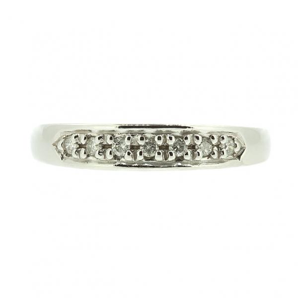 Ювелирное кольцо из белого золота 585 пробы с бриллиантами RD-3911w