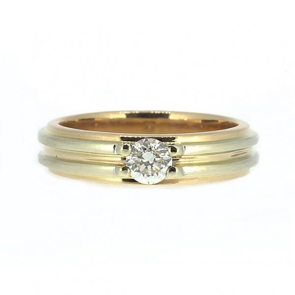 Ювелирное кольцо из красного золота 585 пробы с бриллиантом RD-6258