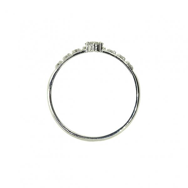 Ювелирное кольцо из белого золота 585 пробы с бриллиантами RD-6683w