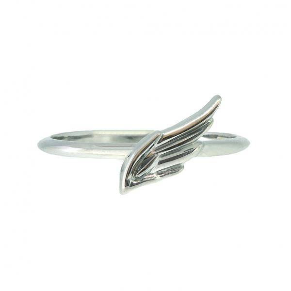 Ювелирное кольцо из белого золота 585 пробы R-00270w