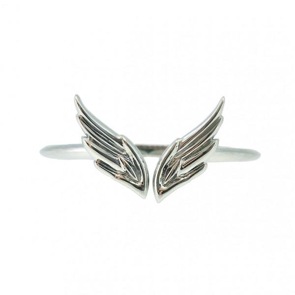 Ювелирное кольцо из белого золота 585 пробы R-00271w