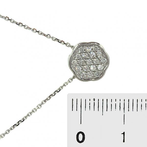 Ювелирная подвеска из белого золота 585 пробы с бриллиантами PD-6801w