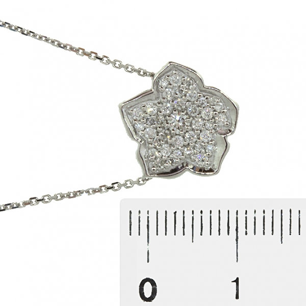 Ювелирная подвеска из белого золота 585 пробы с бриллиантами PD-6831w