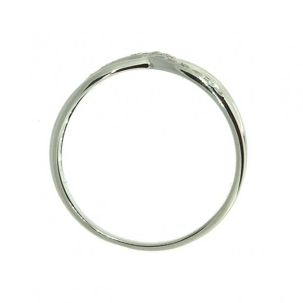 Ювелирное кольцо из белого золота 585 пробы с бриллиантами RD-6887w