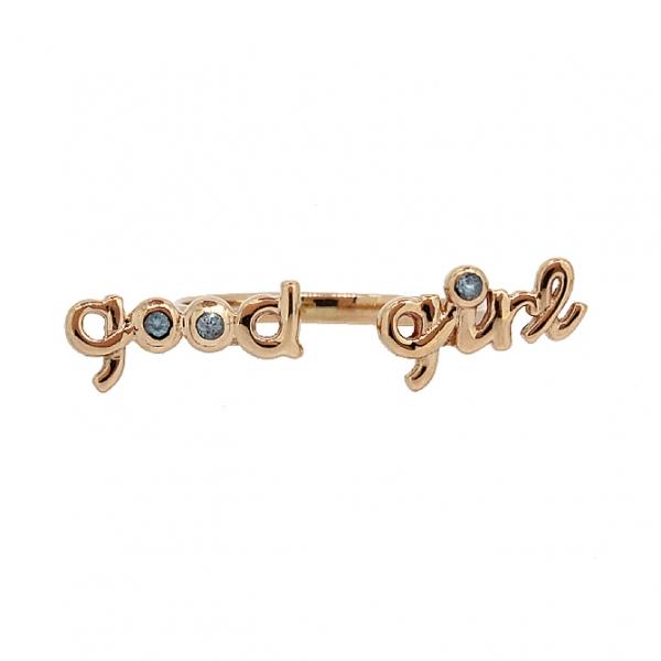 Ювелирное кольцо из красного золота 585 пробы с топазами RT-6931
